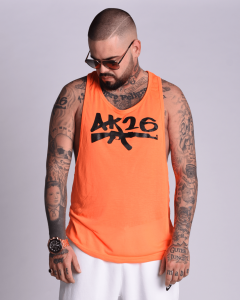 AK26 SUMMER ORANGE UNISEX TANK TOP