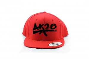 AK26 RED CLASSIC SNAPBACK