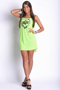 AK26 NEON LOVE WOMEN'S DRESS
