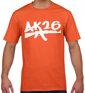 AK26 ORANGE CLASSIC TSHIRT